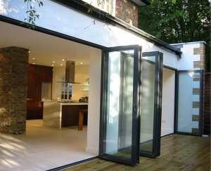 Bifold Doors Slide back