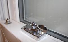 Heritage sash window: Fitch lock