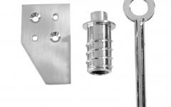 Timber Window: Vent lock & strikeplate