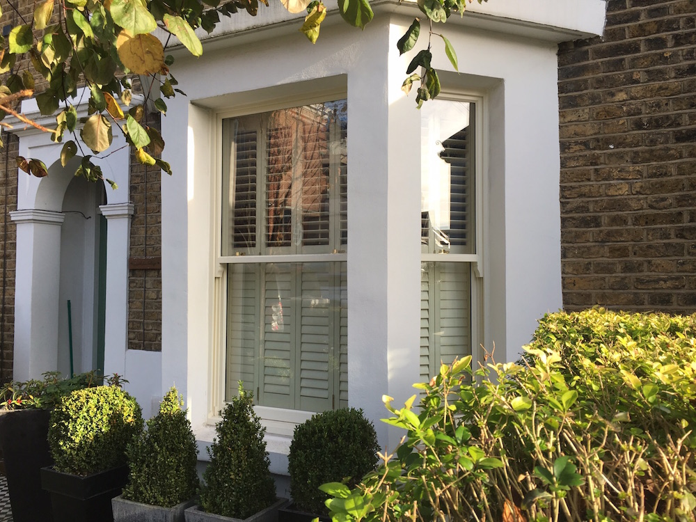 Timber Sash Window London