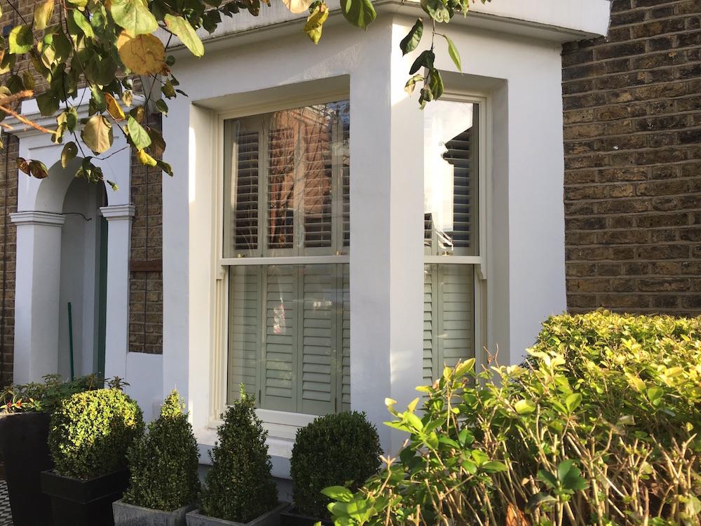 Timber Sash Window London