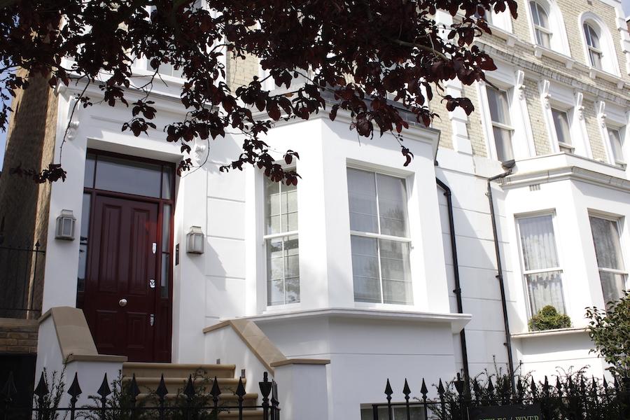 Sash Windows in Kensington