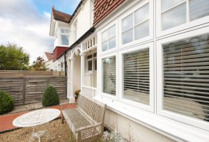 PVCu Bay window