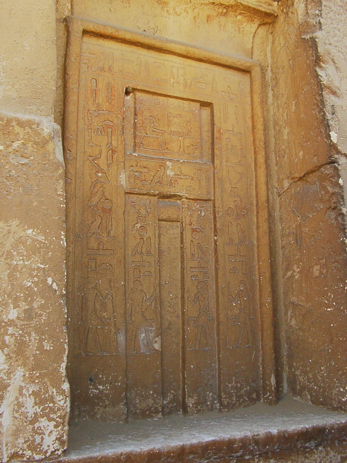 Egypt's false doors