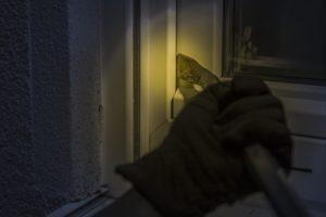 Burglar at Window