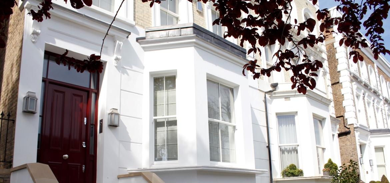 front sash window