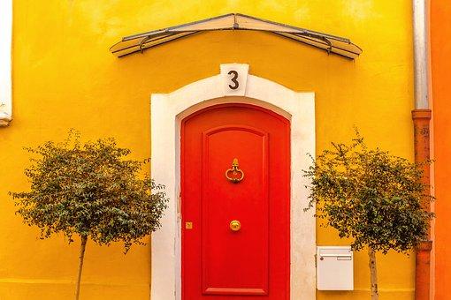 Pick a front door colour