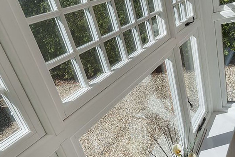 UPVC windows in conservation area
