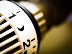 Radiator temperature dial